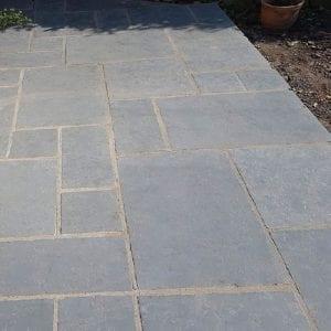 Grey limestone brushed finish mixed sizes