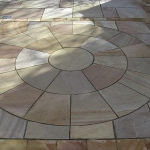 Sandstone circle Rippon Buff