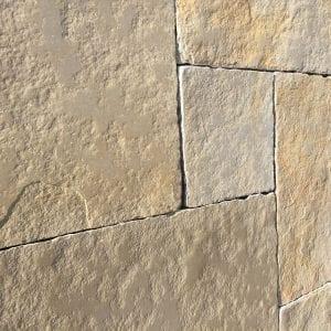 yellow limestone mixed sizes