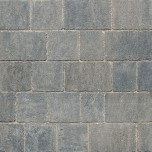 Stonemarket Marshalls Newtri Rumbled Grey Block Paving